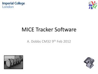 MICE Tracker Software