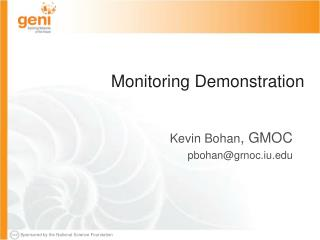 Monitoring Demonstration