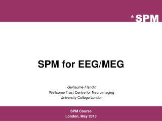 SPM for EEG/MEG