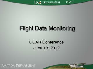 Flight Data Monitoring