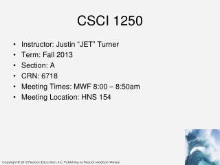 CSCI 1250