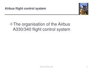 Airbus flight control system
