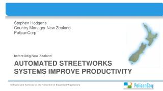 Automated streetworks systems improve  productivity
