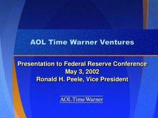 aol time warner ventures