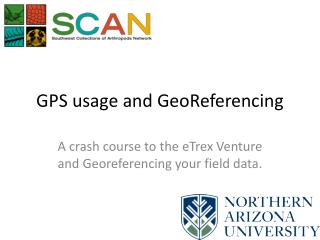 GPS usage and  GeoReferencing