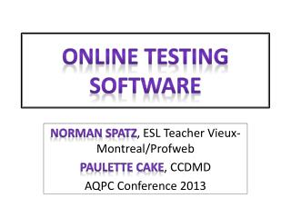 Online Testing Software