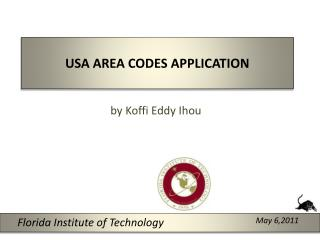 USA AREA CODES APPLICATION
