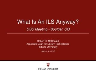what is an ils anyway