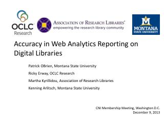 Accuracy in Web Analytics Reporting on Digital Libraries