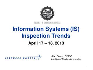 Information Systems (IS) Inspection Trends