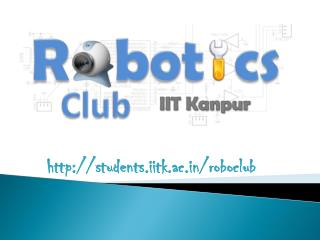 http://students.iitk.ac.in/roboclub