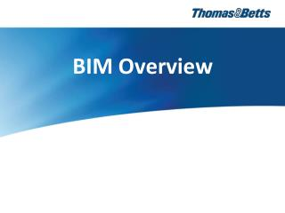 BIM Overview