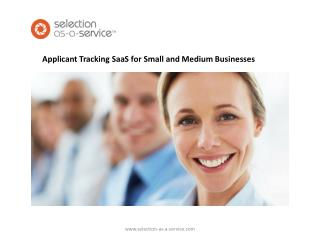 Applicant Tracking  SaaS for Small and Medium Businesses
