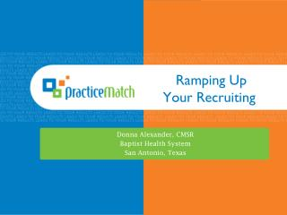 Ramping Up  Your Recruiting