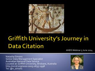 Griffith University�s Journey in Data  C itation