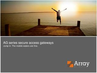 Securely connecting users and applications from  anywhere to anywhere in today's  global economy.