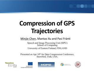 Compression of GPS Trajectories
