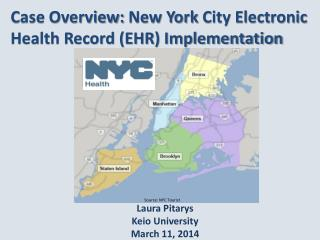 Case Overview:  New York  City Electronic Health Record (EHR) Implementation