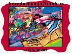 introduction to numbers