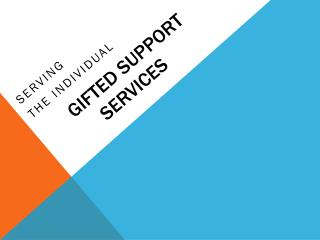 Gifted Support Services