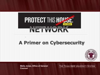 A Primer on  Cybersecurity