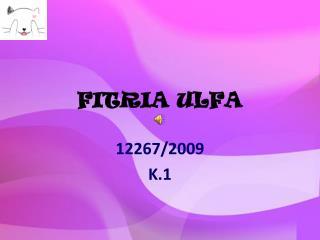 FITRIA ULFA