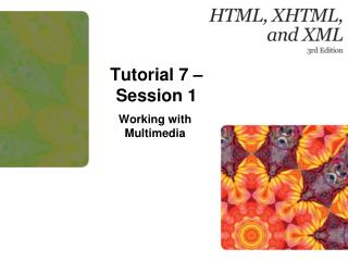 Tutorial  7 – Session 1