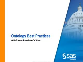Ontology Best Practices