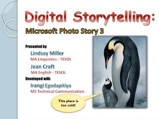 Digital Storytelling :