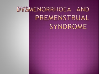 the impact of premenstrual syndrome on women