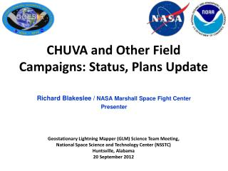 Richard Blakeslee /  NASA Marshall Space Fight Center Presenter