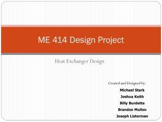ME 414 Design Project