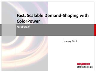 Fast, Scalable Demand-Shaping with ColorPower