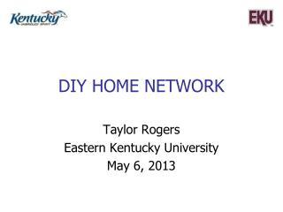 DIY home network