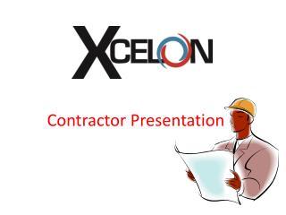 Contractor Presentation