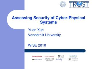 Assessing Security of Cyber-Physical Systems