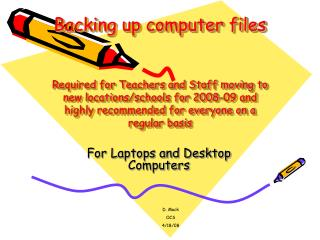 For Laptops and Desktop Computers