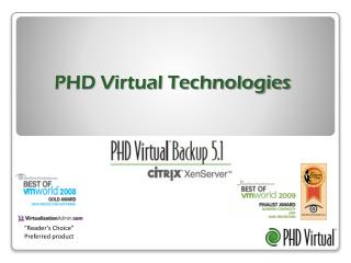 PHD Virtual Technologies