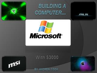 Building a Computer…