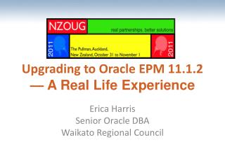 Upgrading to Oracle EPM 11.1.2  — A Real Life Experience