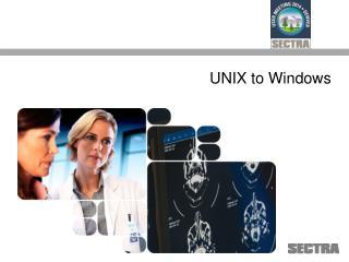 UNIX to Windows