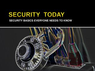 Security  today