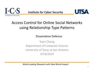 Access Control for Online Social Networks using Relationship Type Patterns