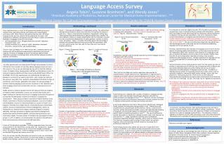 Language Access Survey