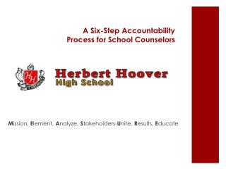 A Six-Step Accountability Process for School Counselors