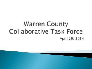 Warren County Collaborative Task Force