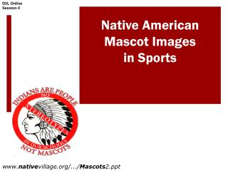 Native American   Mascot Images  in Sports