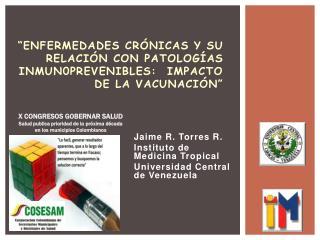 """""""Enfermedades  crónicaS  y su relación con  patologíaS  inmun0prevenibleS:  impacto de la vacunación"""""""