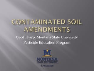 Contaminated soil amendments