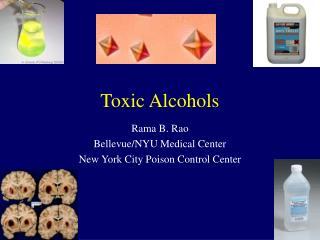 toxic alcohols